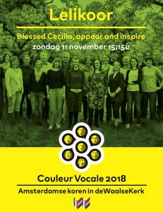 Blessed Cecilia, het Lelikoor november 2018