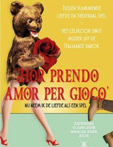 Hor prendo amor per gioco - Het Lelikoor