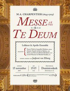 Charpentier, Het Lelikoor, 15 november 2015